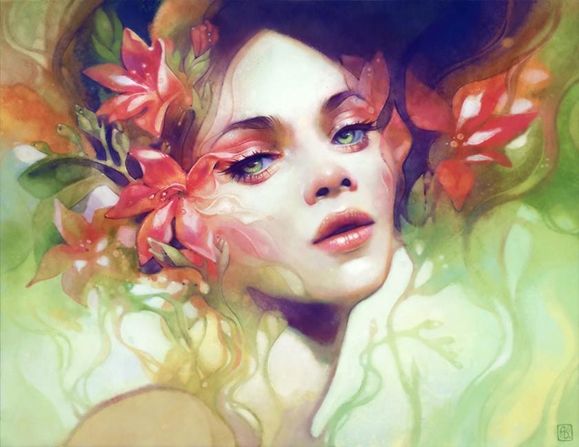 Beautiful Digital Artwork by Anna Dittmann