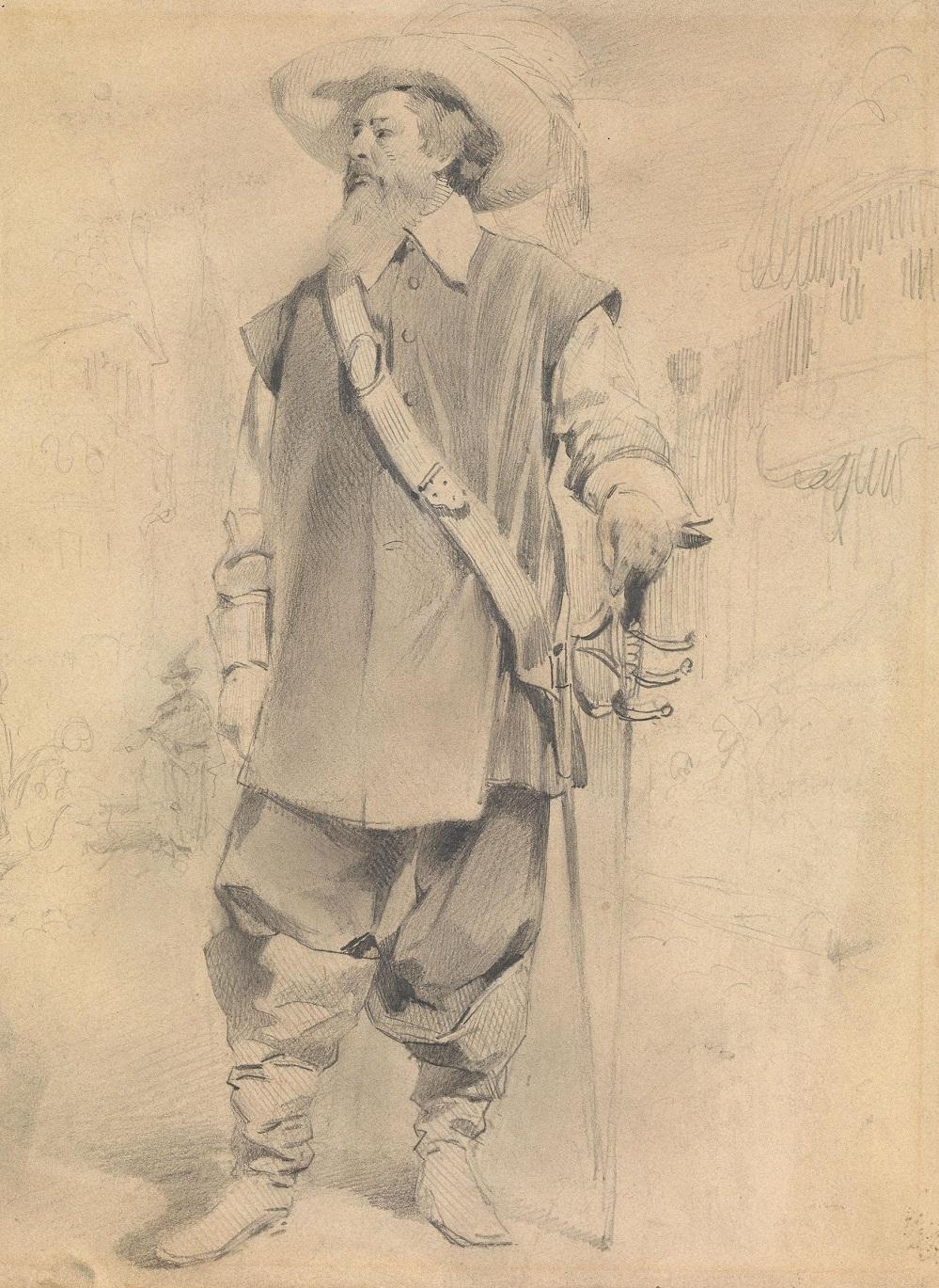 мушкетер.
