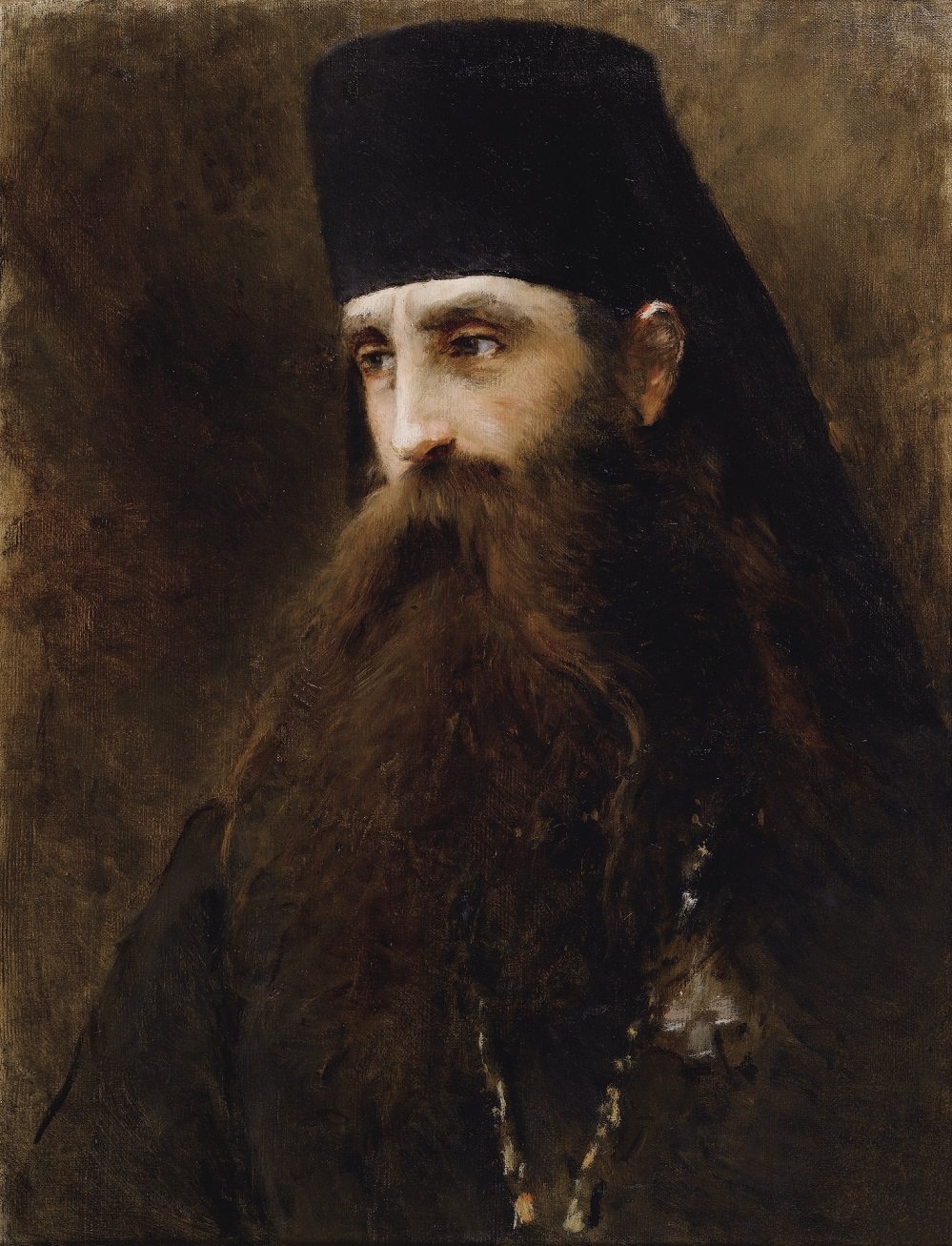 PORTRAIT OF A PRIEST.