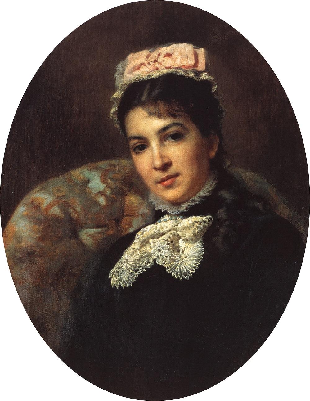 Портрет актрисы Маргариты Гавриловны Савиной  Санкт-Петербургский музей театрального и музыкального искусства.