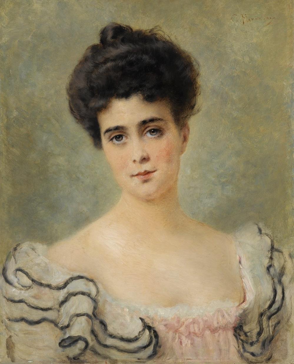 Портрет великой княгини Елены Владимировны Частное собрание.
