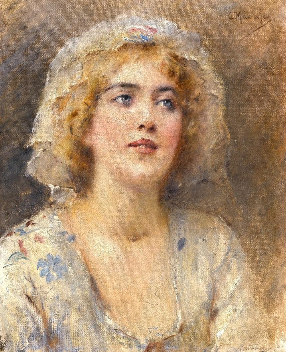 Портрет девушки Частное собрание.