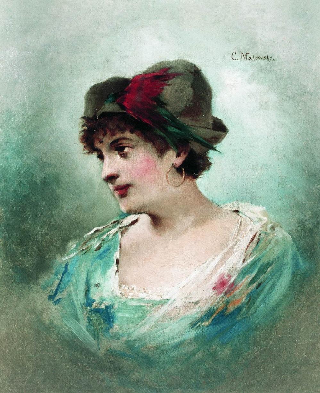 Портрет Марии Петипа. 1900-е  Санкт-Петербургский музей театрального и музыкального искусства.