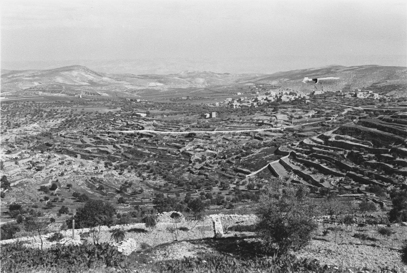 Обрабатываемые земли к югу от Иерусалима