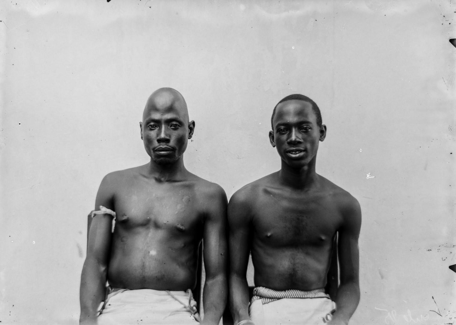 89. Портрет двух мужчин