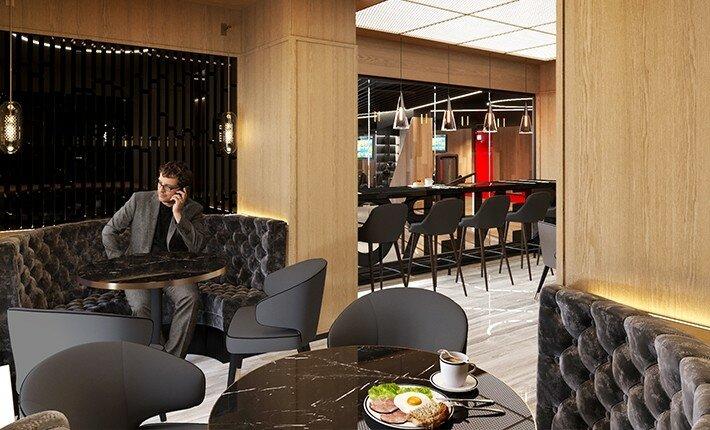 Визуализация интерьеров Lotte Hotel Самара