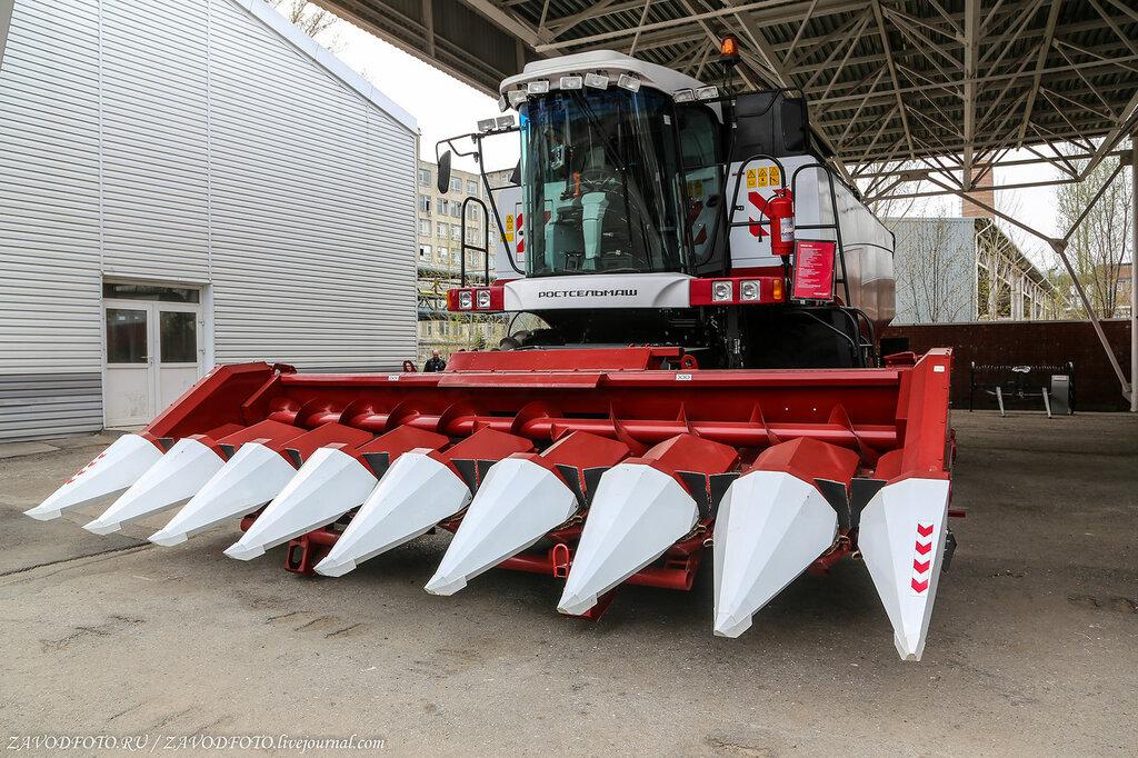 Столько сельхозтехники за рубеж, как в 2019 году, Россия ещё не продавала