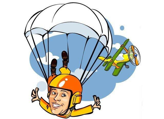 Картинки на день парашютиста, сам