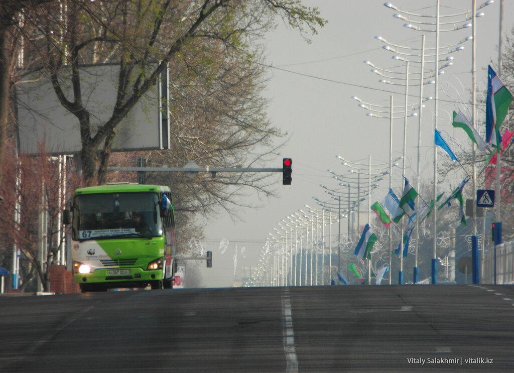 Улица Амира Темура, Ташкент, Узбекистан
