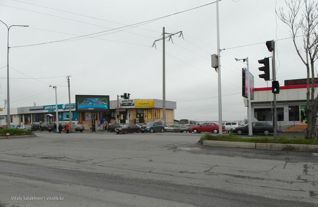 Байтурсынова Рыскулова в Шымкенте, автовокзал