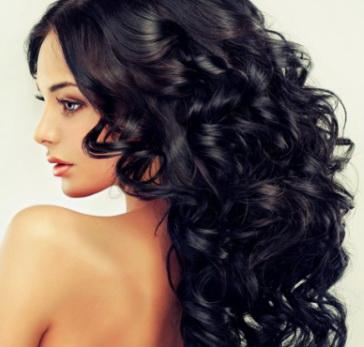 Длинные волнистые волосы