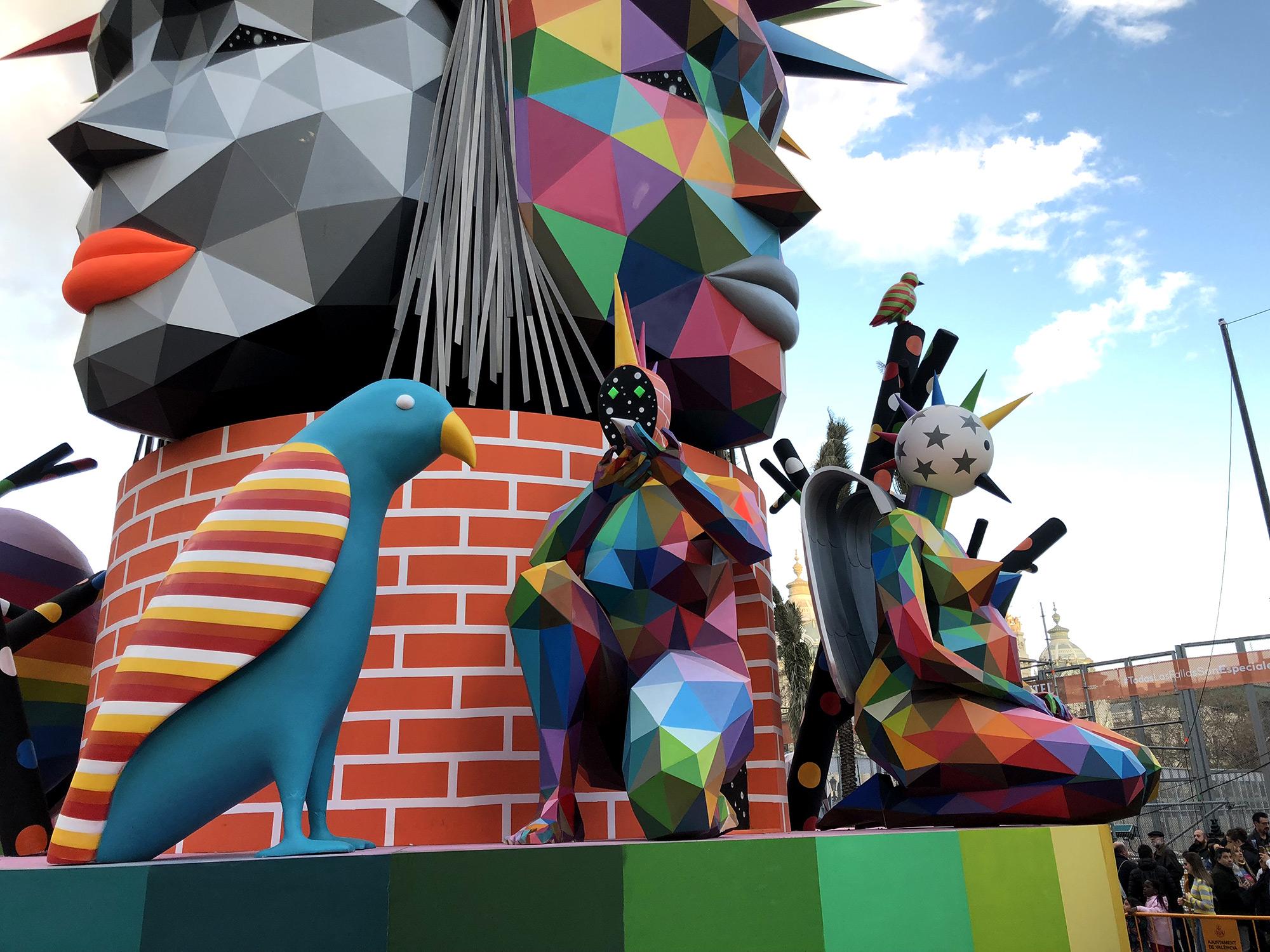 sculpture festivals festival artist okuda