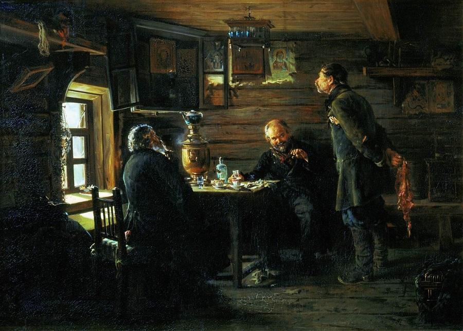 Любители соловьев. 1872-1873 Государственная Третьяковская галерея, Москва