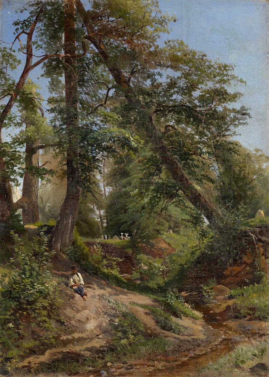 Summer Woodland , 1871.