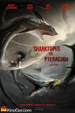 Sharktopus vs. Pteracuda - Kampf der Urzeitgiganten (2014)