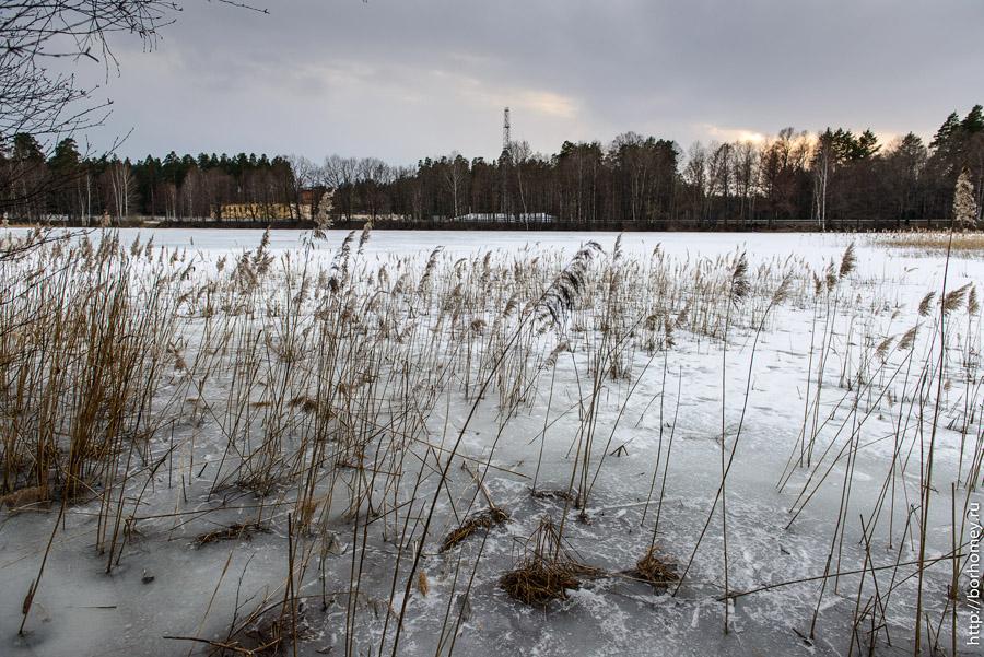 Монастырский пруд Варламовский