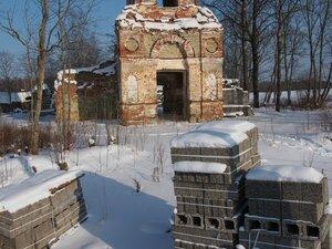 Церковь Троицы Живоначальной, XVIII век