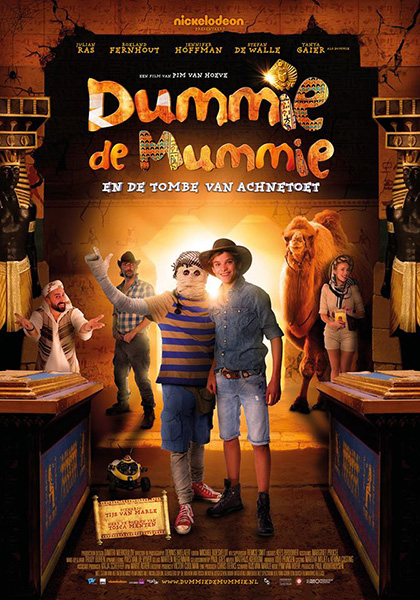Моя любимая мумия 2 / Dummie the Mummy and the Tomb of Achnetut (2017/WEB-DL/WEB-DLRip)