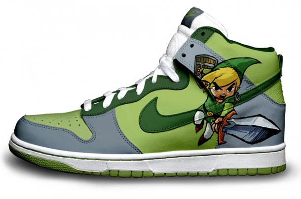 Bioshock, Angry Birds, Halo, Portal, Harry Potter… – 40 New custom sneakers by Brass Monki (9 pics)