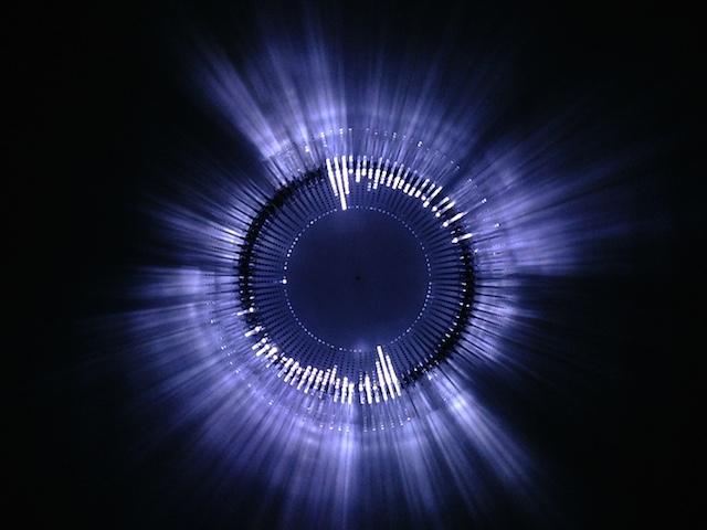 Installations Installation exhibition light lights lighting Paris water