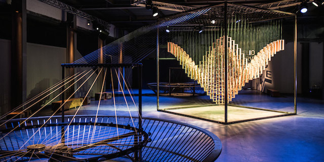 Helio Curve Kinetic Installation