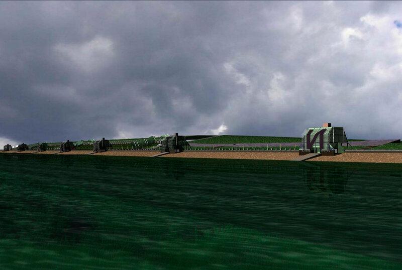 Эскиз-концепция реконструкции набережной Автозаводского района г. Тольятти