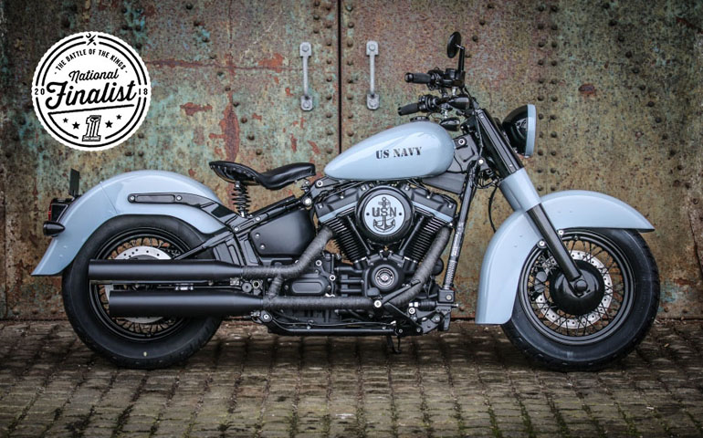 Финалисты Harley-Davidson Battle of the Kings 2018 в Великобритании