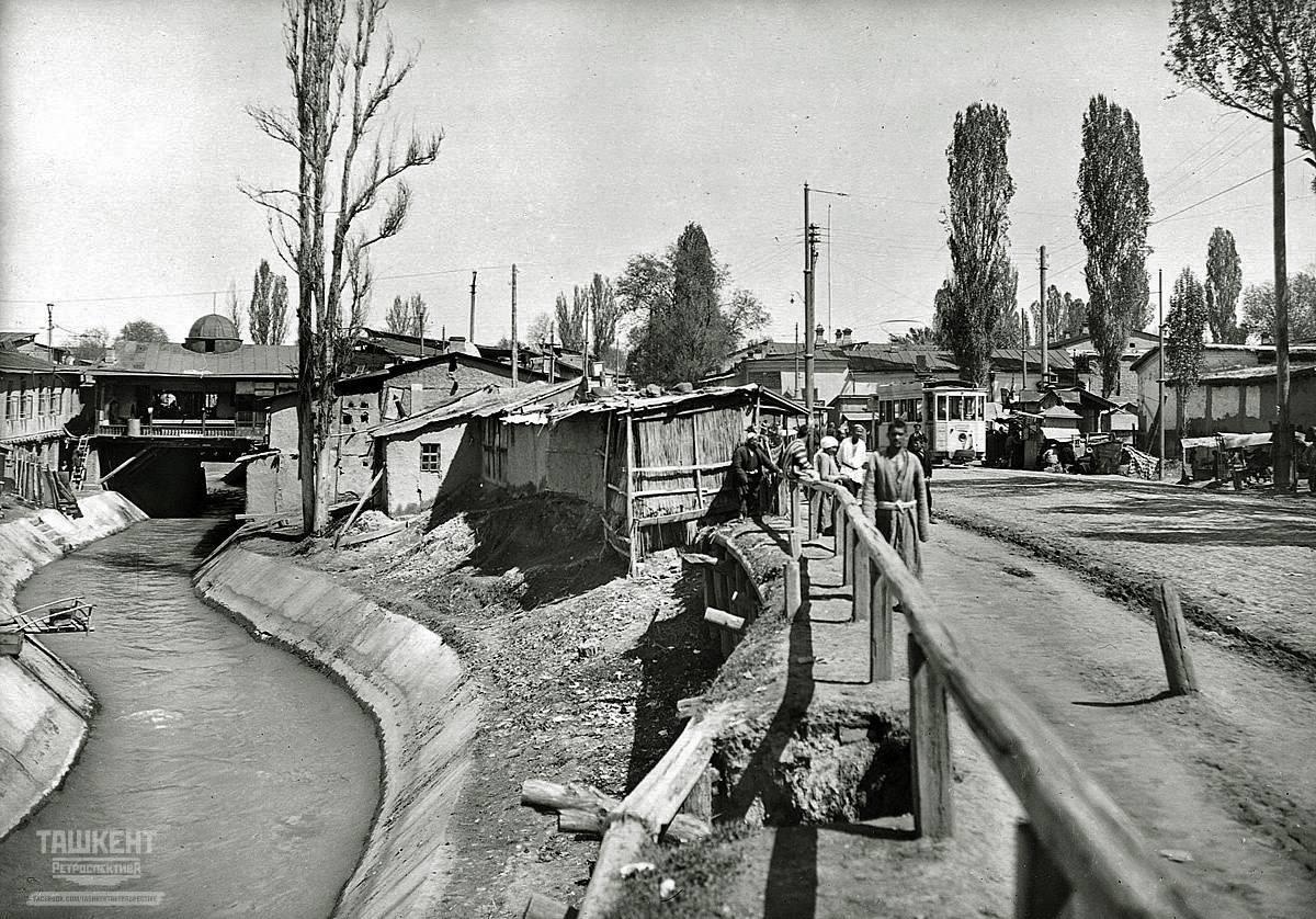 Канал Анхор (Ангор), на границе между старым и новым городом