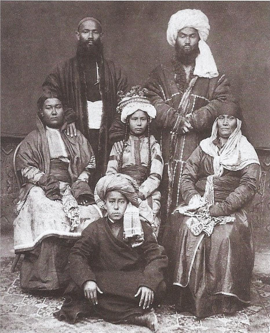 Бухарская семья. 1897