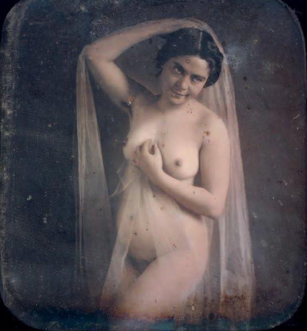 1854-1856. Обнаженная с вуалью
