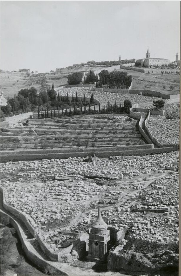 Иерусалим. Кедронская долина