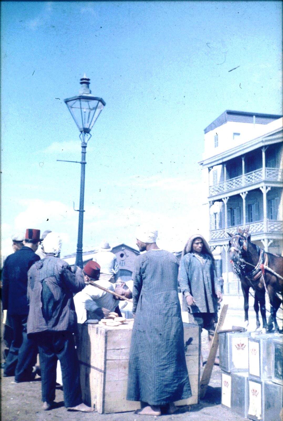 Александрия. В порту