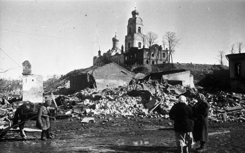 «Красная звезда», 9 апреля 1943 года, освобождение Вязьмы