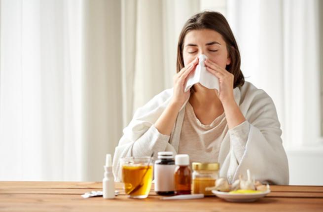 избавиться от простуды за один день