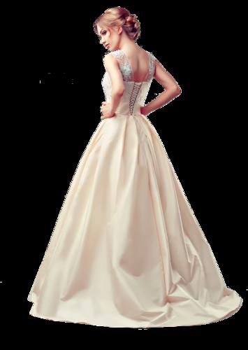 клипарт девушек в бальном платье