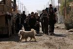 Иракцы спасаются от боевых действий между силами иракской армии и боевиками «Исламского государства» в восточной части Мосула, Ирак, 12 января 2017 года. Фото: Alaa Al-Marjani / Reuters     MIDEAST-CRISIS/IRAQ-MOSUL