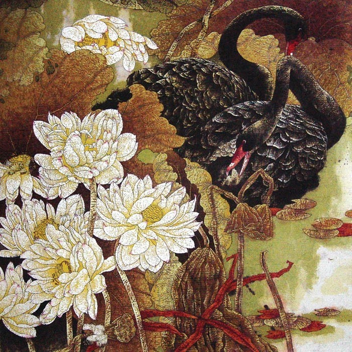 Работы китайского художника Wei Ze