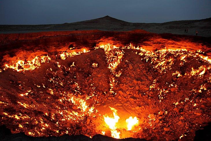 Врата ада. Туркменистан (16 фото)