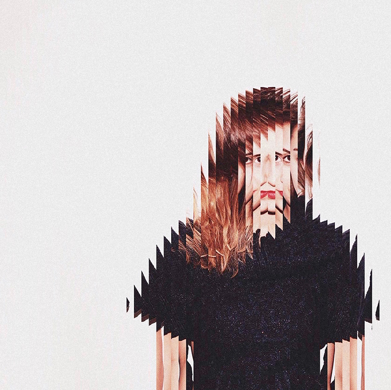 Surreal Stretched-Out and Rearranged Portraits