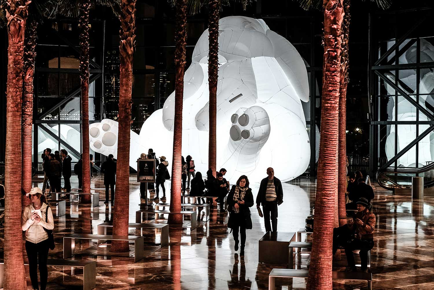 Amanda Parer's Giant Inflatable Rabbits Invade Public Spaces Around the World