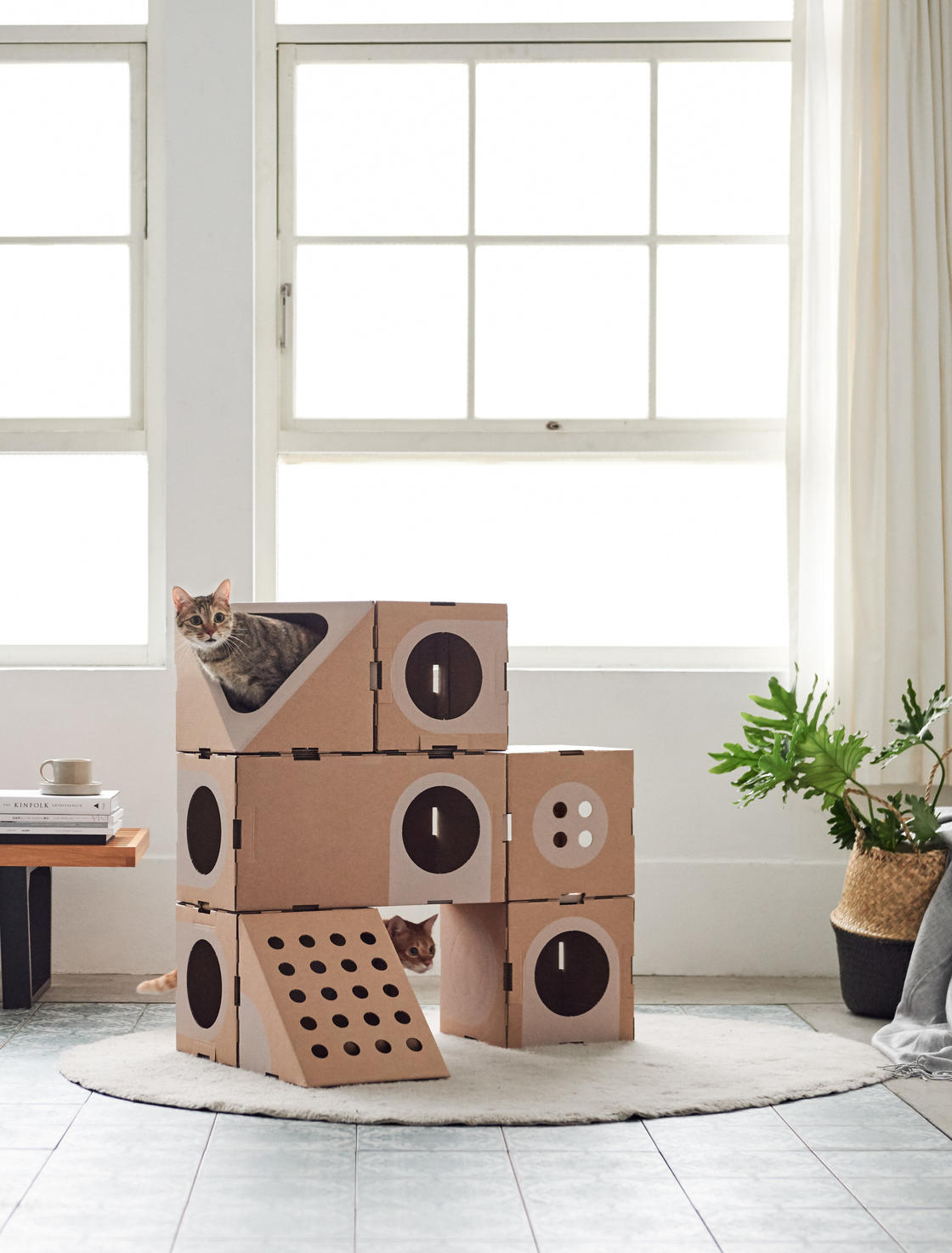 Cat Rooms – Cute and clever modular houses for cats