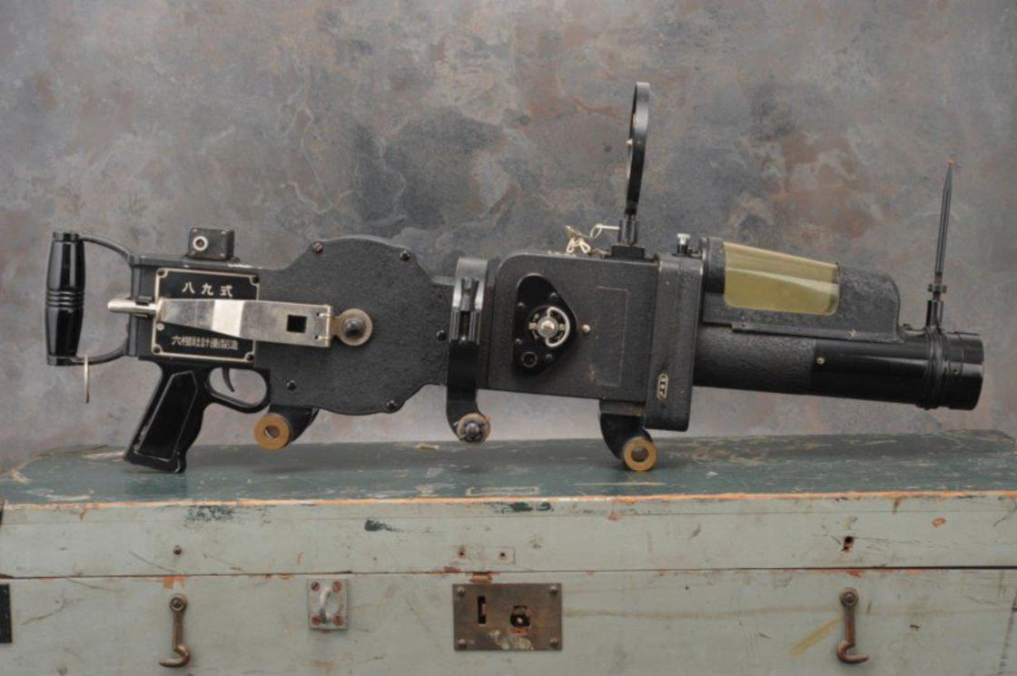Camera Gun – This amazing machine gun is a camera used during WWII