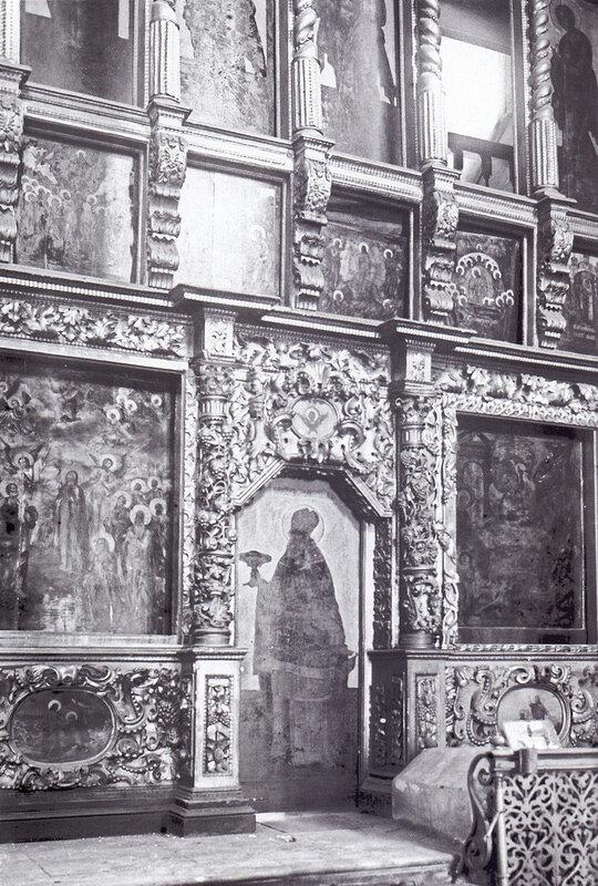 Иконостас Вознесенского собора Вознесенского монастыря
