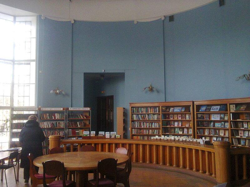 Вызов электрика в библиотеку с целью отключения новогодней декоративной подсветки фасада