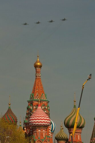 Aircraft at the Moscow Victory Parade of 2013