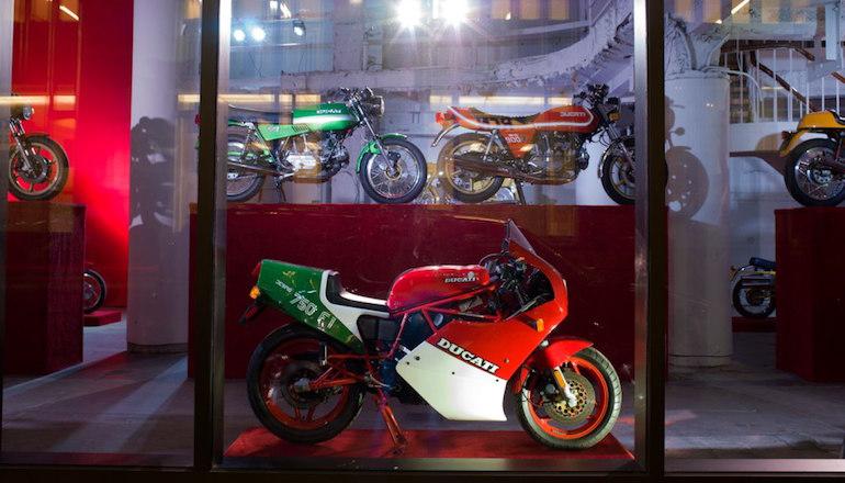 Выставка классических итальянских мотоциклов Стюарта Парра
