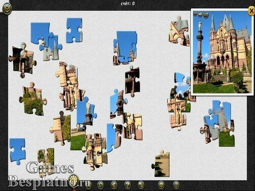 1001 пазл: Вокруг света. Дворцы и замки