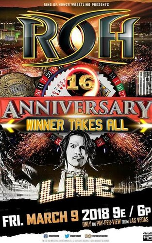 Post image of ROH 16th Anniversary Show