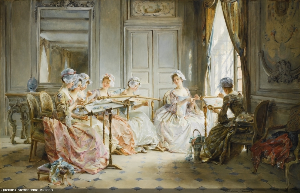 THE EMBROIDERY CLASS