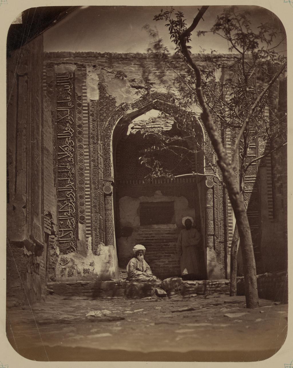 Мавзолей Ходжа Ахмада. Фасад
